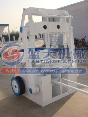 coconut shell charcoal briquetting machine