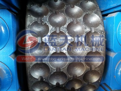 hydraulic charcoal ball press machine