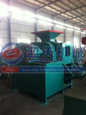 Pulverized coal ball press machine